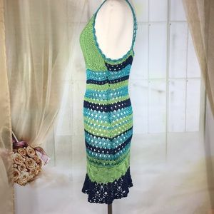 Brazen Dresses - Brazen Sexy Crocheted Summer Dress